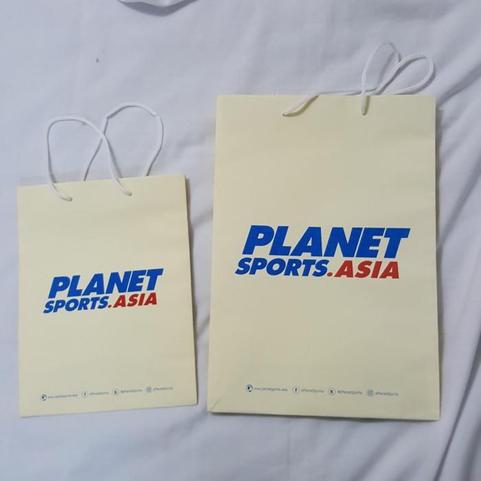a76ac2825d8 Jual Paper Bag Planet Sports asia tas belanja planet sport kertas ...