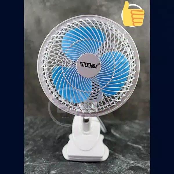 "Kipas Angin Jepit 8"" [MITOCHIBA] Clip Fan"