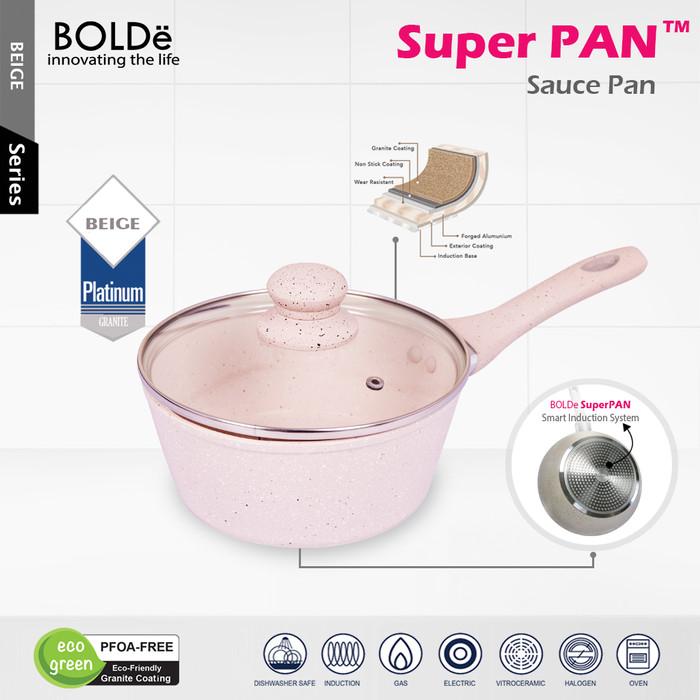 Foto Produk BOLDe Super PAN - Sauce PAN 18 cm + glass lid dari BOLDe Official Store