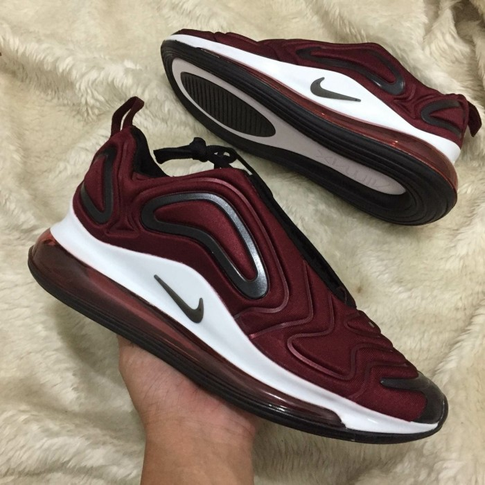 wholesale dealer 4a6e5 21def Sepatu Nike Air Max 720 Maroon - Premium Quality