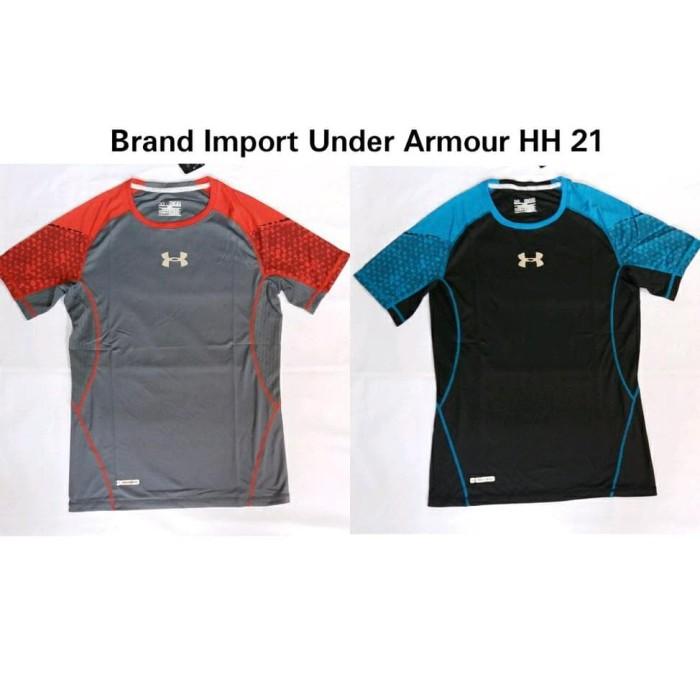 Jual promo asyik Kaos import Under Armour - Bandini Rizky  40246f08be
