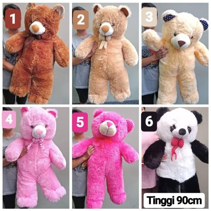 Jual Aneka Boneka Jumbo 1 meter Teddy Bear Panda Beruang Lucu Imut ... 5856ba5a65
