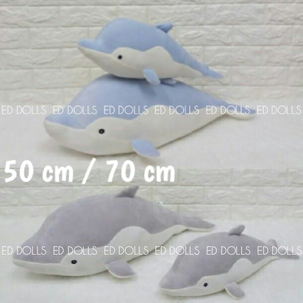 harga Boneka ikan lumba lumba dolphin soft - 70 cm Tokopedia.com