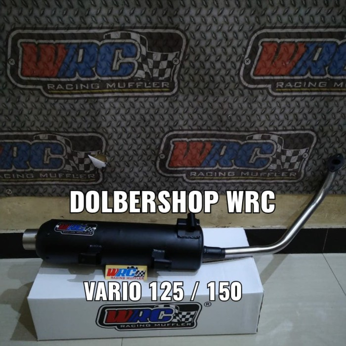 Foto Produk knalpot wrc vario 125/150 leheran atas - Vario 125 Old dari dolbershop