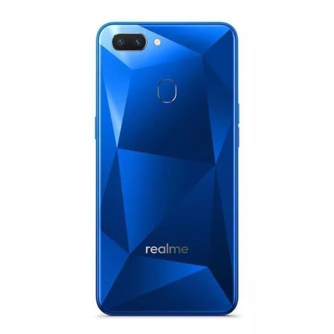 Jual Handphone Realme C2 Ram 4 Rom 64 Garansi Resmi 1 Tahun Biru
