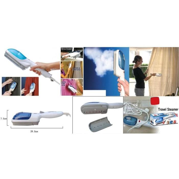 KiozOrenz Setrika Uap Portable Tobi Steam Brush & Iron Garment Steamer
