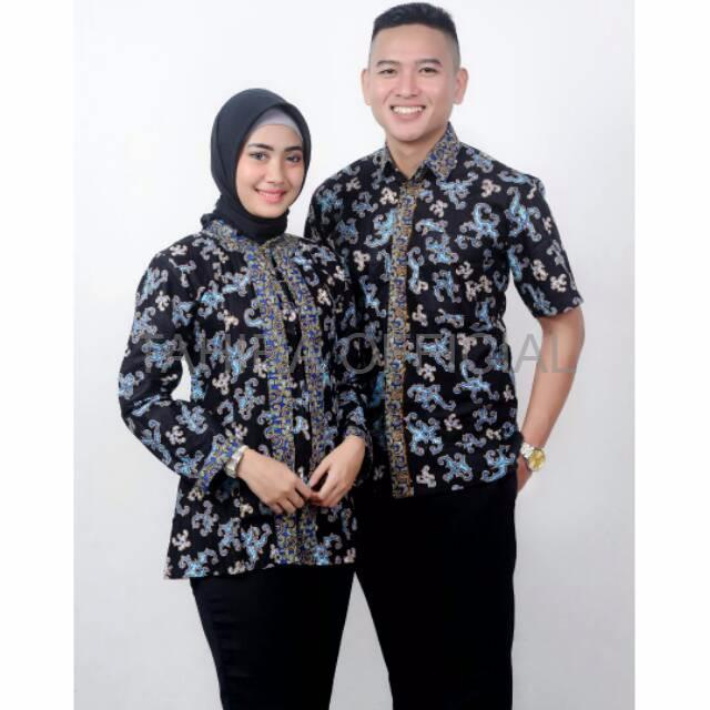 Batik Couple Murah Baru Couple dilan manggar batik couple sarimbit pa