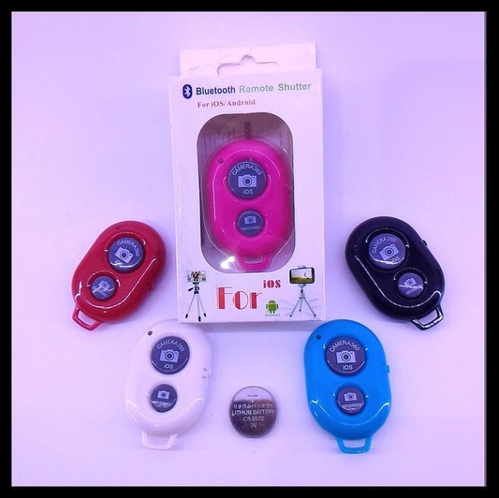 HOT SALE Tomsis (Tombol Narsis) Bluetooth Shutter Button Camera