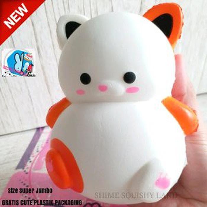 Jual Grosir Squishy Murah Cute Kucing Soft & Slow Mainan Anak