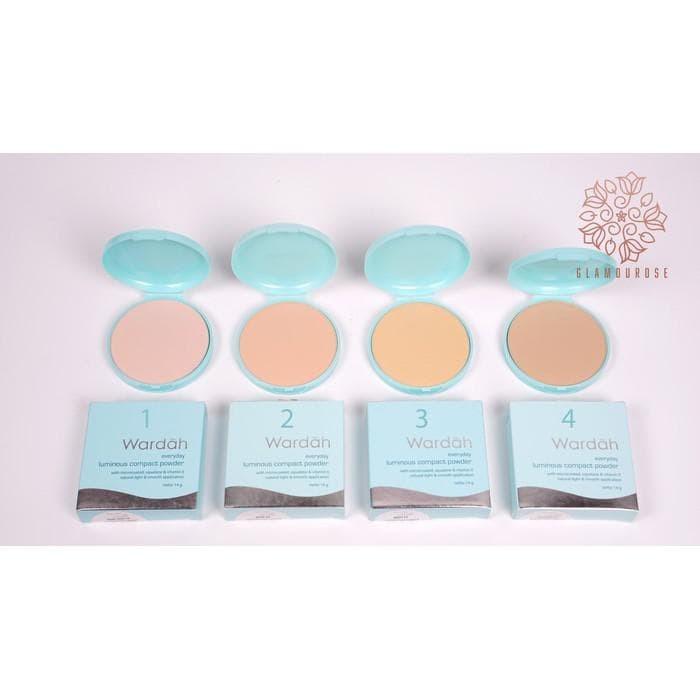 Wardah Refill Everyday Luminous Compact Powder 14gr