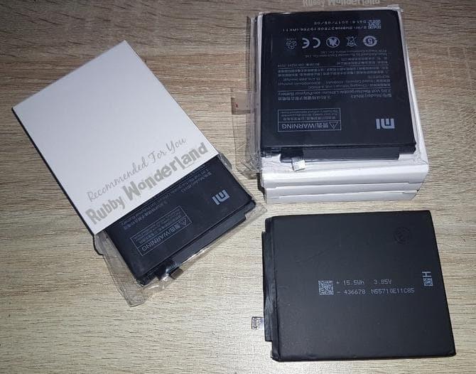 Best Ever Original 100% Xiaomi Redmi Note 4X Bn43 Baterai / Batre /