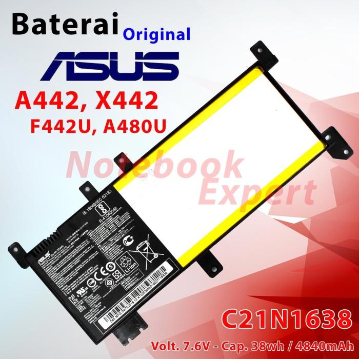harga Baterai ori asus a442 x442 f442u a480u c21n1638 Tokopedia.com
