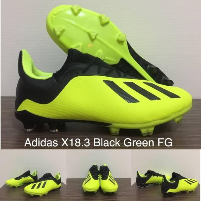 pretty nice ea152 5b728 Jual SEPATU BOLA ADIDAS X18.3 BLACK GREEN FG - Kota Batam - Grosir  ImporBatam | Tokopedia