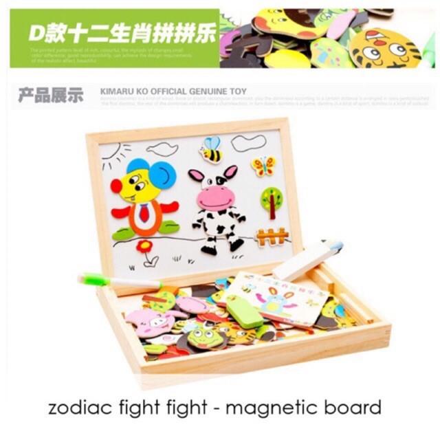 Edufuntoys MAGNETIC BOARD Mainan Edukasi Papan Tulis Magnetic
