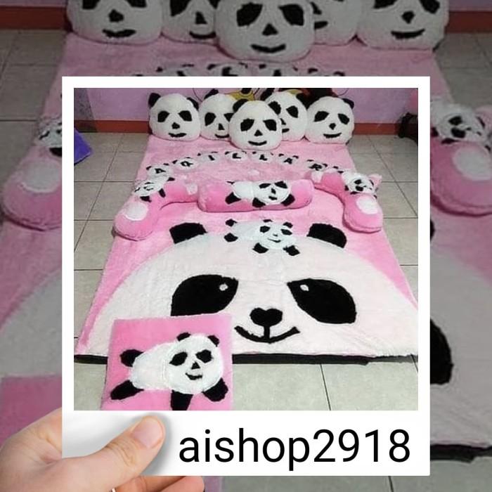 karpet karakter pandaa/ kasur karpet/karpet rafsur/