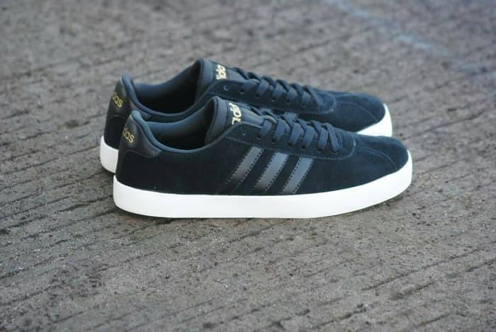 new style bc8e2 b7e63 Sepatu Adidas Neo VL Court Black Original BNWB Indonesia