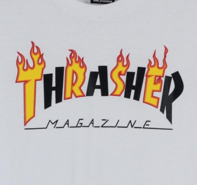 Jual T-shirt / Kaos Thrasher Font Flame - Kota Bandung - Hellflip  Skatewarehouse | Tokopedia