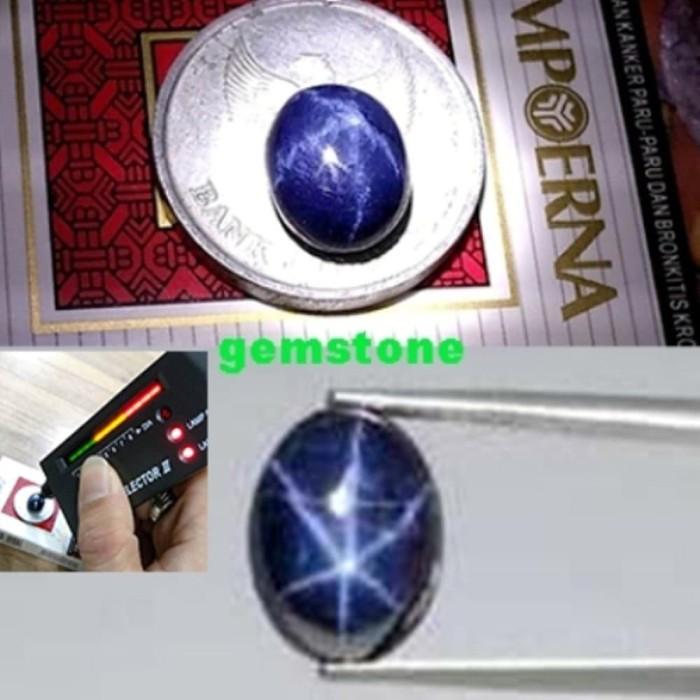 harga Batu blue sapphire 100persen original natural 6 star Tokopedia.com