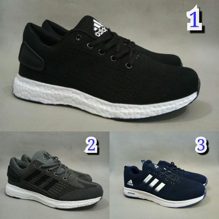 free shipping d8e47 3a0af sepatu sport adidas boost premium terbaru murah marathon ax2 running