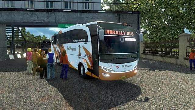 download mod bus map indonesia ets2