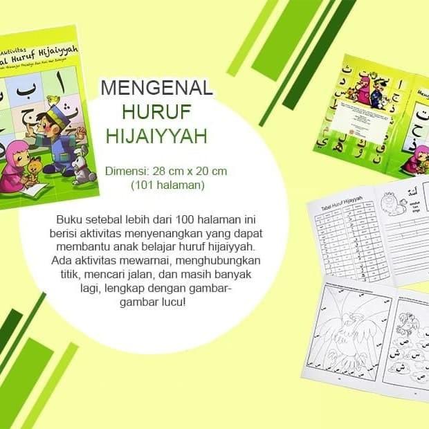 Jual Buku Hijaiyyah Mengenal Huruf Hijaiyyah Kab Sukoharjo