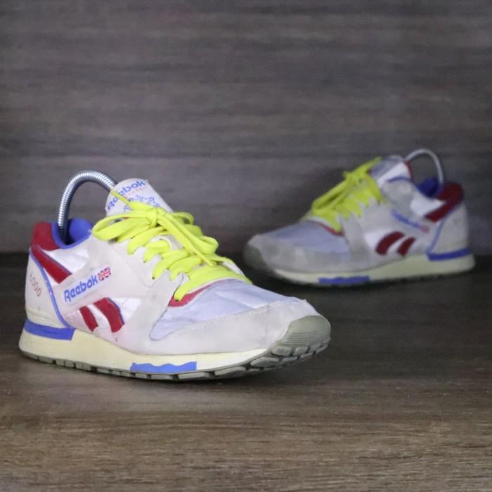 edb0519fca4 Jual Sepatu Sneakers Reebok Classic GL 6000 White 41 ORIGINAL SECOND ...