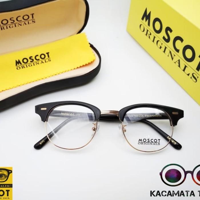 kacamata frame pria wanita moscot yukel frame paket lensa crmc radiasi db77187871