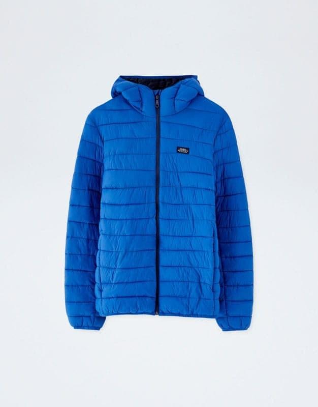 9a2e4299e04a4 Jual Pull and Bear Lightweight Puffer Jacket with Hood Origin ...