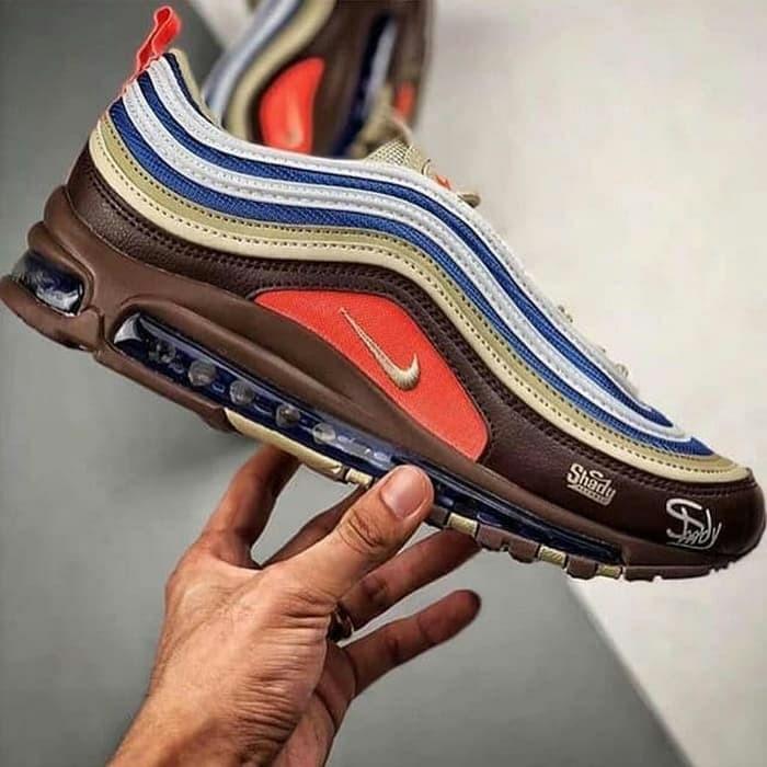 bc7cb548ead2c2 Sepatu Nike Air Max 97 x Eminem Shady Records   sneakers premium
