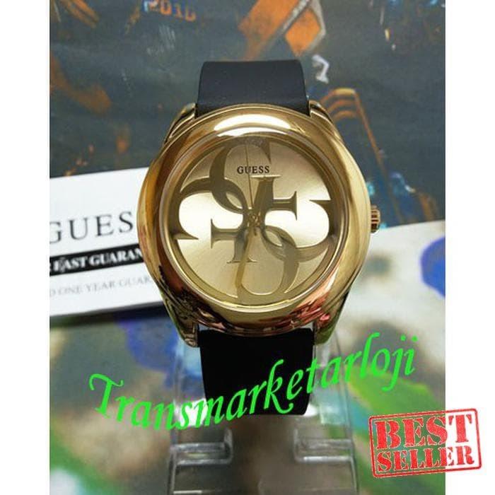 Guess Jam Tangan Wanita Gold Rubber Hitam W0911l3 - Daftar Harga ... 5222e60ee2