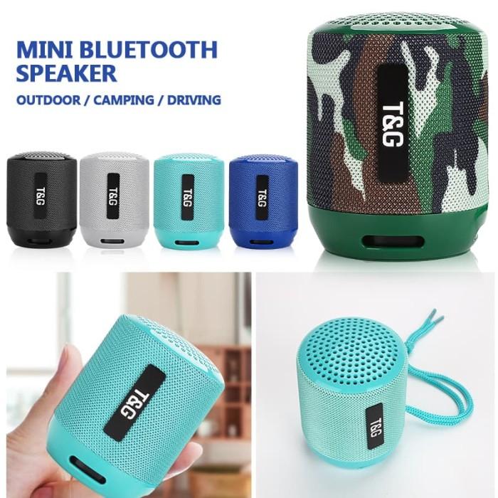 T/&G TG-116C Flip Splashproof Portable Wireless Speaker Red