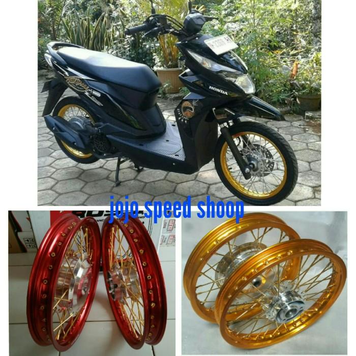 Jual Velg Variasi Honda Beat Street Ring 14 Rossi Kab Bogor Jojo Speed Shoop Tokopedia