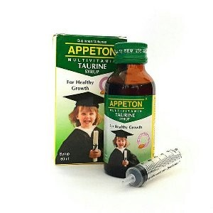 Jual STOK TERAKHIR Appeton Taurine vitamin kecerdasan otak anak Berkua