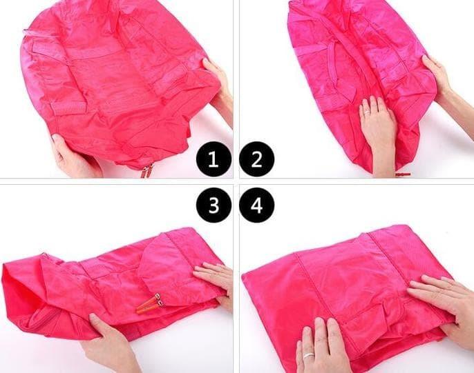 Hot Promo Foldable Travel Bag / Hand Carry Tas Lipat / Koper Bagasi