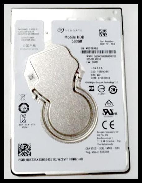 Harga Cuci Gudang Hardisk Laptop Merk Seagate 500gb Hdd Nb Internal Sata Rp 679000