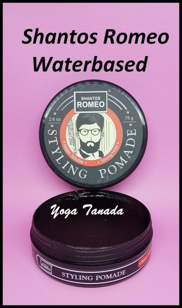 KOMPLIT Pomade Shantos Romeo Styling Strong Waterbased Water Based 2.6 e5c6fc9c74