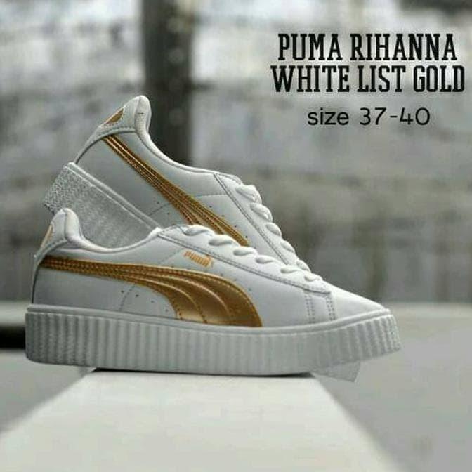 Info Sepatu Olahraga Putih Gold Travelbon.com