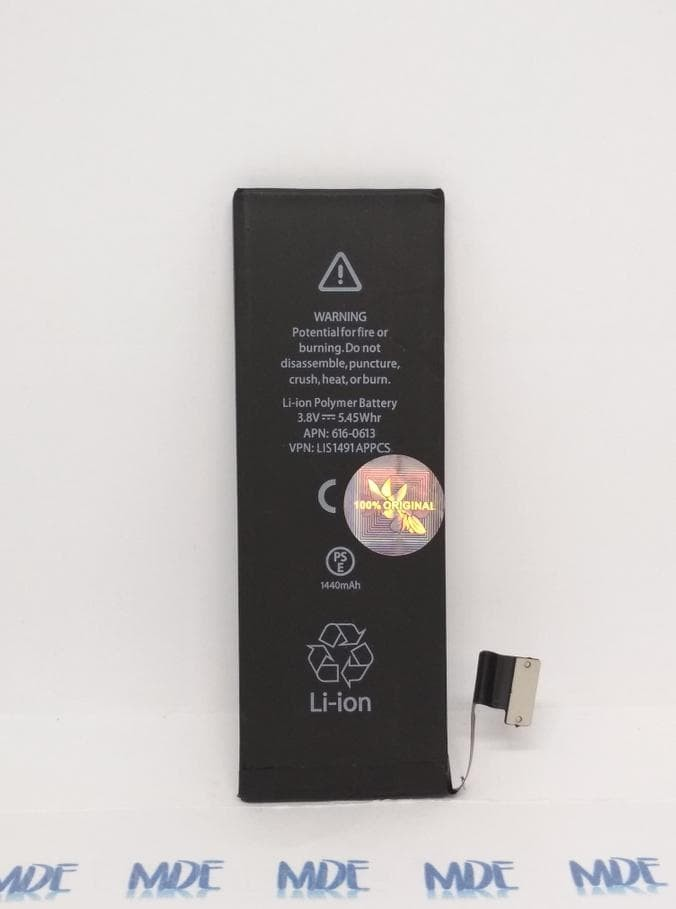 Romo Baterai Batre Battery Iphone 5G (Iphone 5) Original 100% Apple -