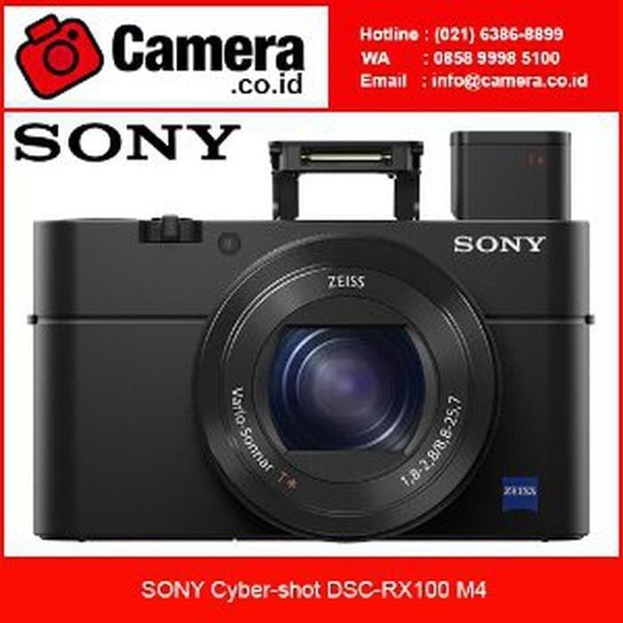 SONY Cyber-shot DSC-RX100 M4 - Kamera Pocket