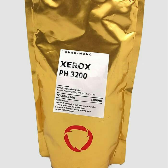 Foto Produk Bubuk Toner Refil Fuji Xerox Phaser 3200 / WC3119 / PE220 - 1Kg dari Mitraink