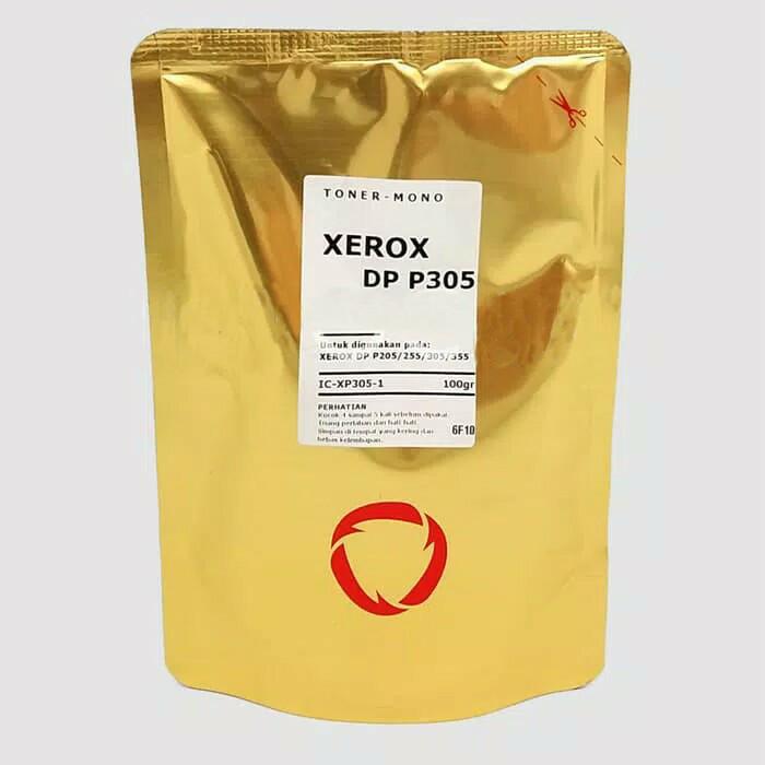 Foto Produk Bubuk Toner Fuji Xerox DP P305/355 - DP P205/215/255 Mono 100gr dari Mitraink