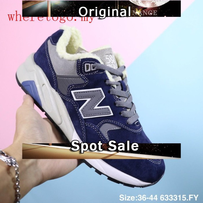 Jual New Balance 580 Sepatu Sport Lari Outdoor Low Top Warna Biru ... 32a31e8907