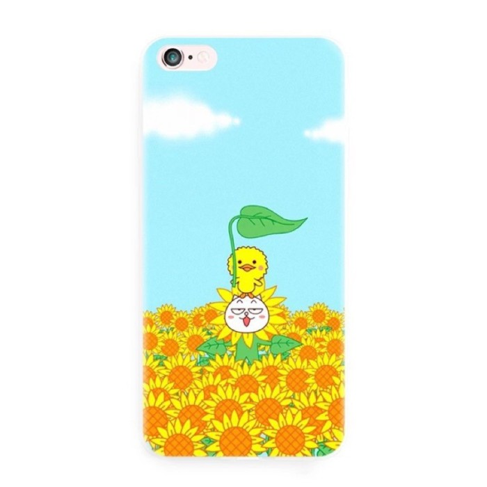 e7386e004 NO.1625 chicks sunflowers model all kinds of phone case customized