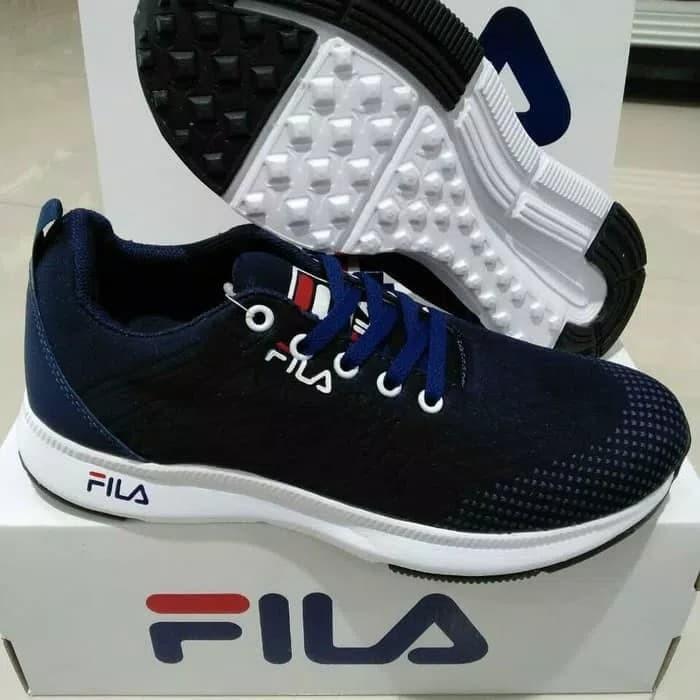 Jual Sepatu Sneakers Fila Pria Cool Style - Maroon e683eee120
