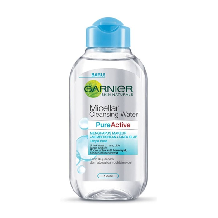 Garnier micellar water blue - 125ml