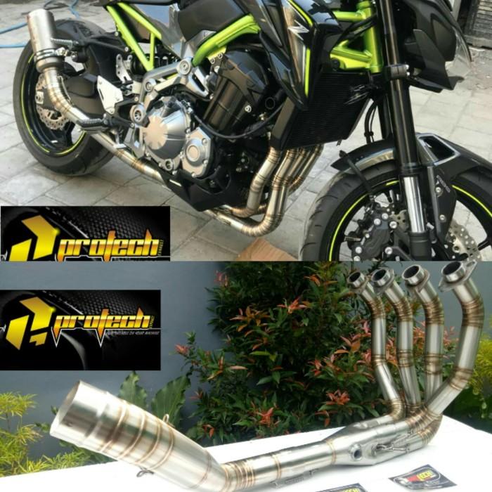 Jual header leher pipa knalpot racing Kawasaki z900 z 900 CC RS - Kab   Purbalingga - faizi mufller | Tokopedia