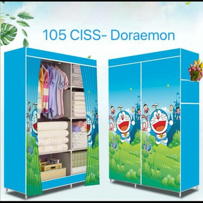 85+ Foto Desain Lemari Portable Motif Doraemon Paling Keren