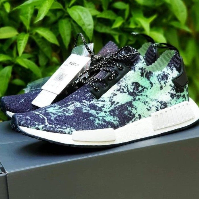 051797cf8 Jual adidas NMD R1 PK Marble Aero Green - Sneakers-id