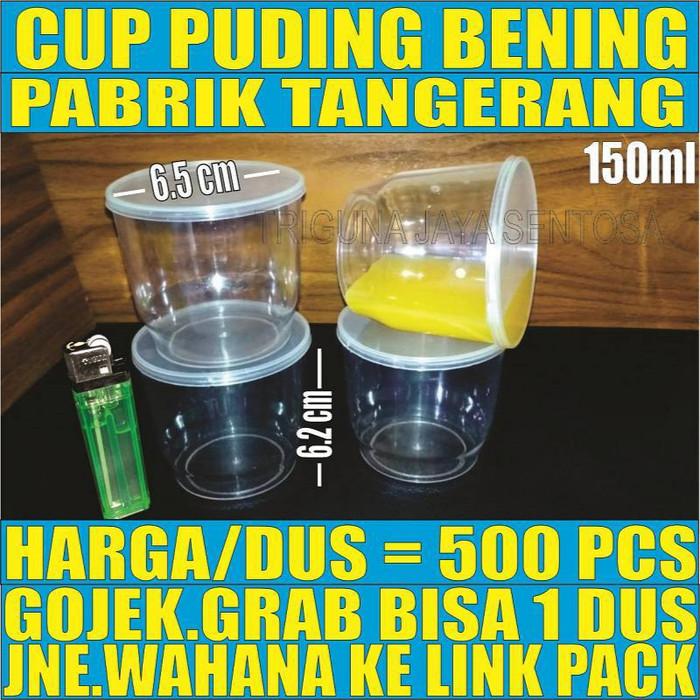 harga Gelas plastik cup puding jelly tutup merpati 500pcs Tokopedia.com