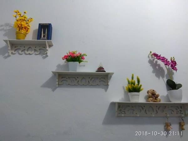 Jual Rak Hiasan Dinding Rumah Gantungan Kunci Topi Organizer Ruang Tamu Wpc Kota Salatiga Martob Organizer Tokopedia